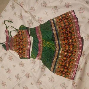 NWOT 1 to 2 year Indian festive dress